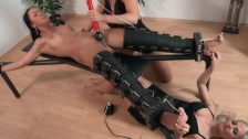 Victoria Sweet is tickled and forced to...