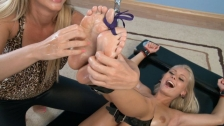 Oiled and tickled feet by Anneli